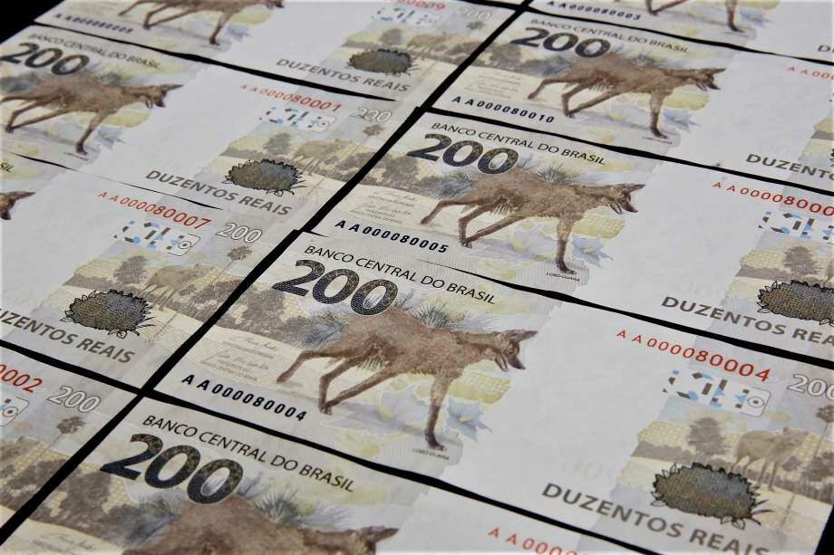 Nova nota de 200 reais (Banco Central/Divulgação)